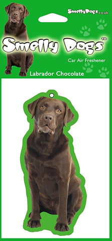 Chocolate Labrador Air Freshener