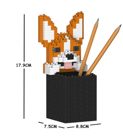 Jekca Welsh Corgi Pencil Cup