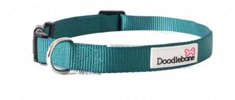 Teal Doodlebone Collar