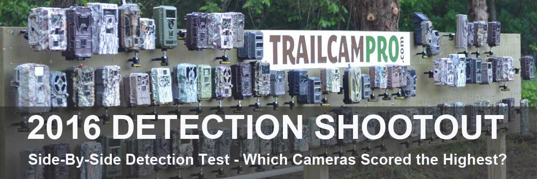 trail camera detection test