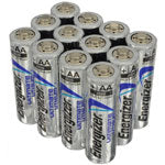 12 pack Energizer Ultimate Lithium batteries