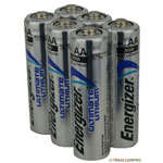 6 pack of energizer ultimate lithium batteries