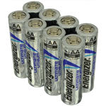 8 pack Energizer Ultimate Lithium batteries