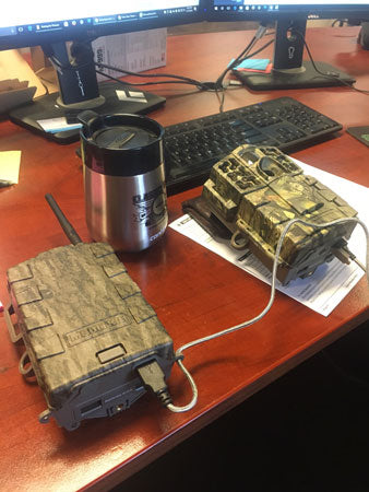 Moultrie M999i and modem