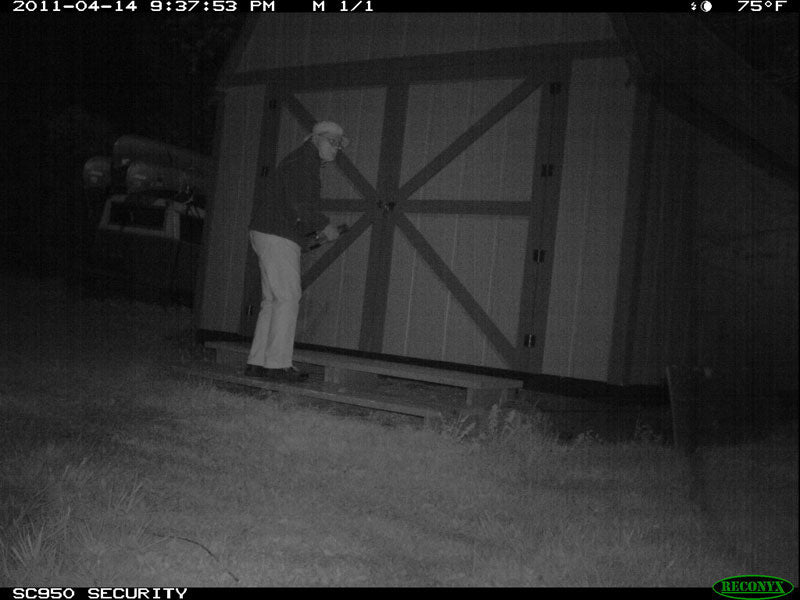 Security Pictures from Game Camera