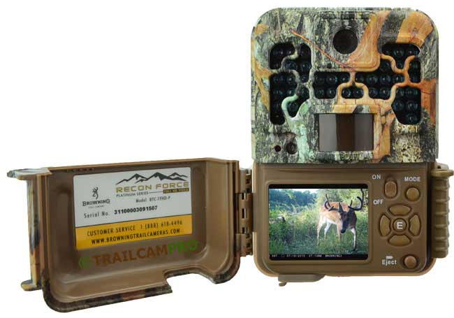 trail cameras with viewers