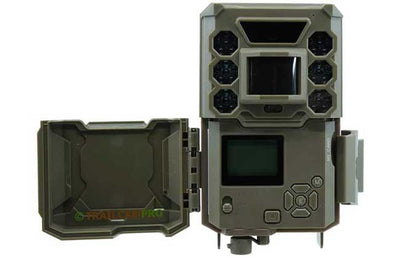 open  view of bushnell core low glow trail camera