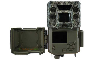 open view of bushnell core ds low glow trail camera