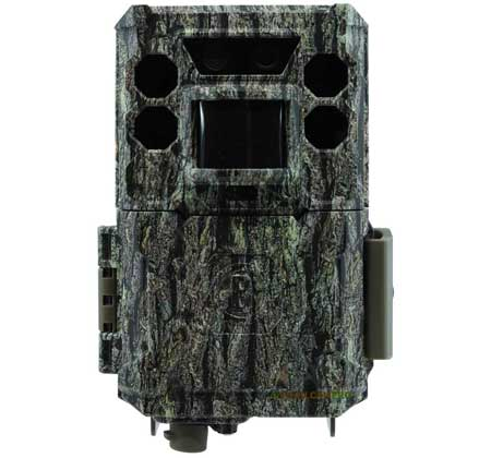 "front view of bushnell core ds no glow trail camera width=""450"" height=""420"""