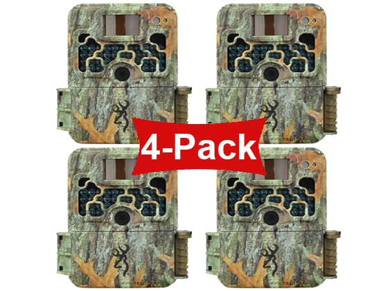 front view 4 pack of the browning strike force extreme