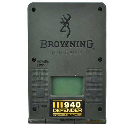 open back view of the browning defender 940 wifi trail camera