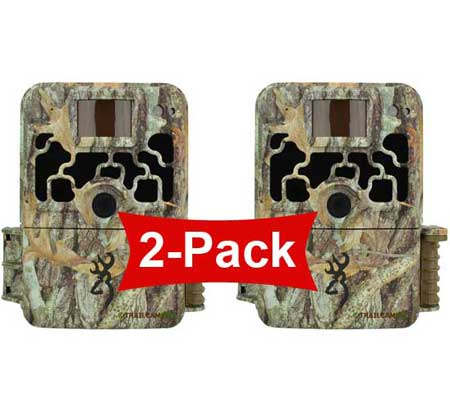 front view of the browning dark ops extreme 2 pack