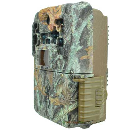 side view of the browning recon force advantage trail camera