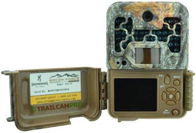 open view of the browning recon force advantage trail camera