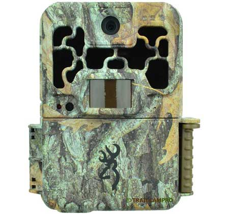 front view of the browning spec ops advantage trail camera