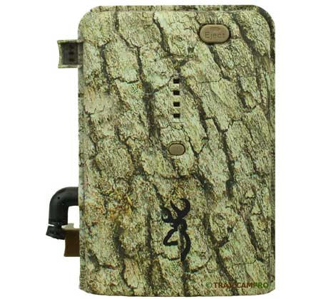front view of browning trail camera power pack