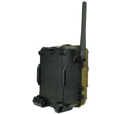 "Spypoint link dark cellular trail camera back view width=""450"" height=""420"""