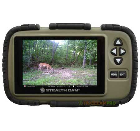"Used Stealth Cam 4.3"" Picture Viewer"