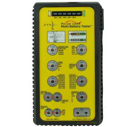ZTS MBT-1 Lithium Battery Tester