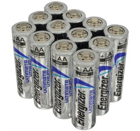 Energizer Ultimate Lithium Batteries for game cameras