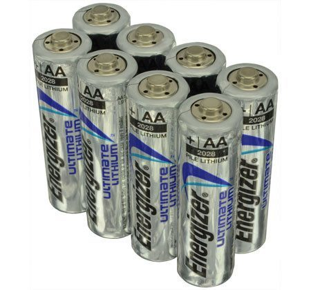 Long lasting trail camera batteries