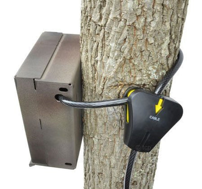 Lock up your game | trail camera with the Master Lock Python Cable