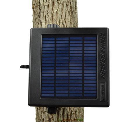 Efficient solar panel for game camera