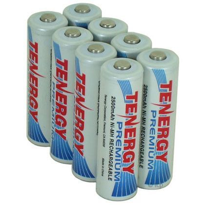 Nimh rechargeable batteries