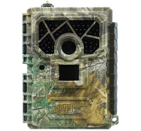 Front view of Covert Blackhawk LTE Trail Camera