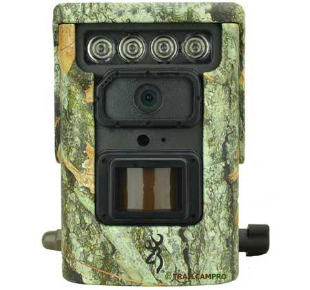 front view of the browning defender 850 wifi trail camera