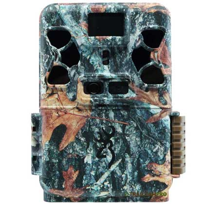 The front of the Browning patriot is camoflauged and has IR emitters