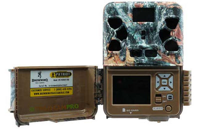 "Browning Patriot trail camera open view width=""650"" height=""420"""