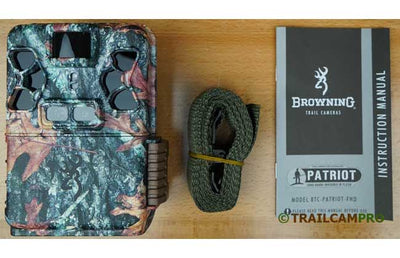 "Browning Patriot trail camera contents view width=""650"" height=""420"""