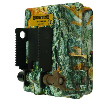 back view of the browning strike force hd pro x trail camera