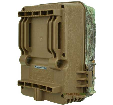 back view of the browning strike force extreme trail camera