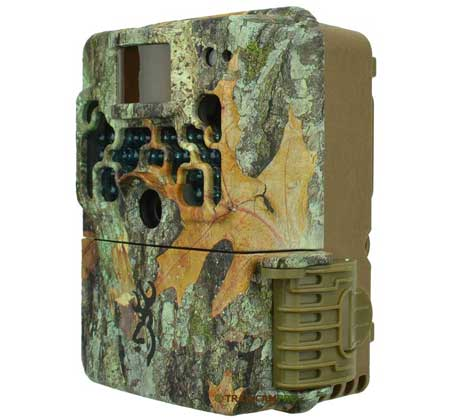 side view of the browning strike force extreme trail camera