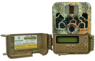 open view of the browning strike force extreme trail camera
