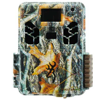 "front view of the browning dark ops hd pro x trail camera width=""450"" height=""420"""