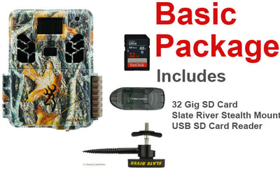 basic package for browning dark ops hd pro x includes tree mount batteries usb sd card reader and 32gb sd card