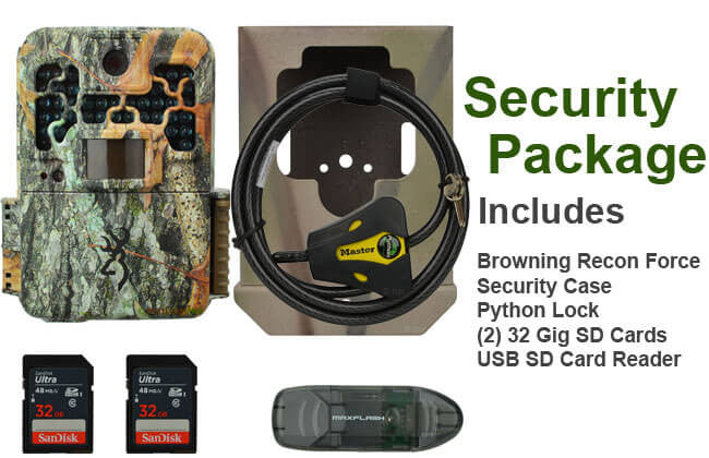 browning recon force security package