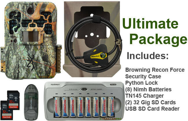 browning recon force ultimate package