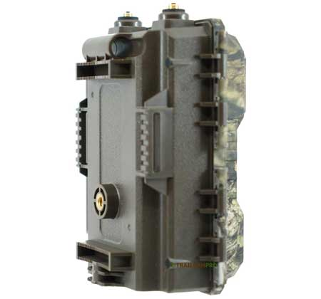 Back  view of 2019 Covert Code Black LTE Trail Camera