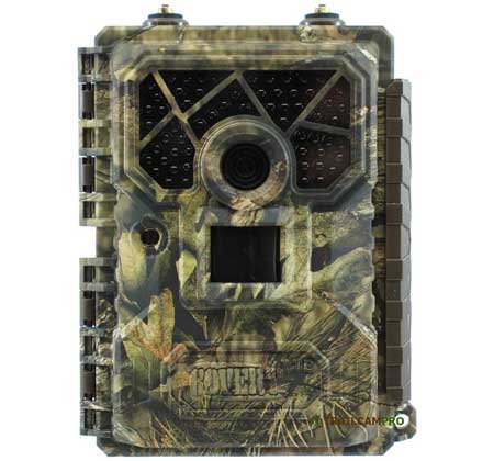 Front view of 2019 Covert Code Black LTE Trail Camera