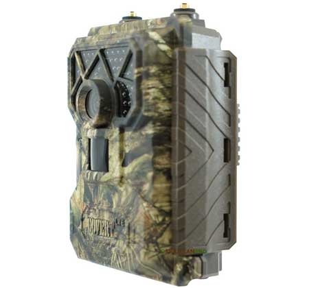 Side  view of 2019 Covert Code Black LTE Trail Camera