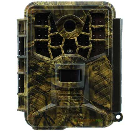 Front view of the Covert Black Maverick Trail Camera