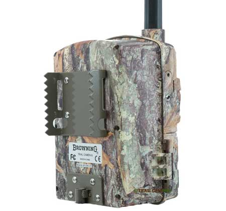 Back View of the Browning Wireless Defender Cellular Trail camera