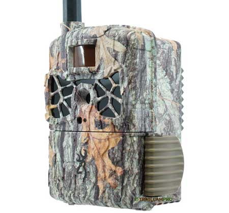 Front Angle view of the Browning Wireless Defender Cellular Trail camera
