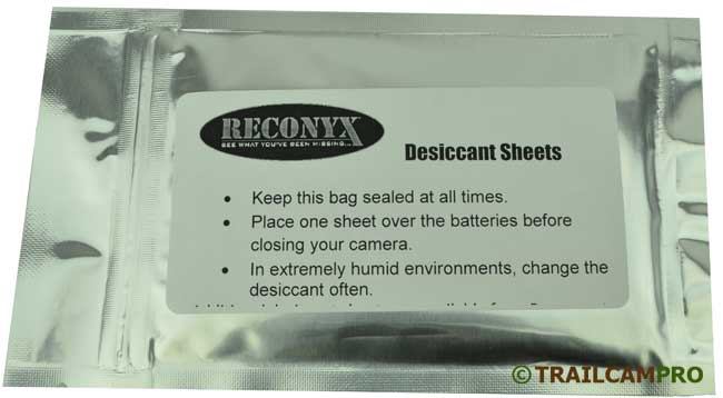 Reconyx Universal Desiccant Sheet