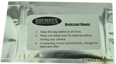 reconyx desiccant sheet photo