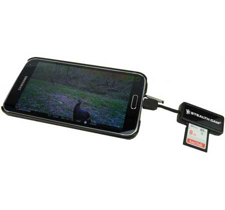 Stealth Cam Memory Card Reader - Android